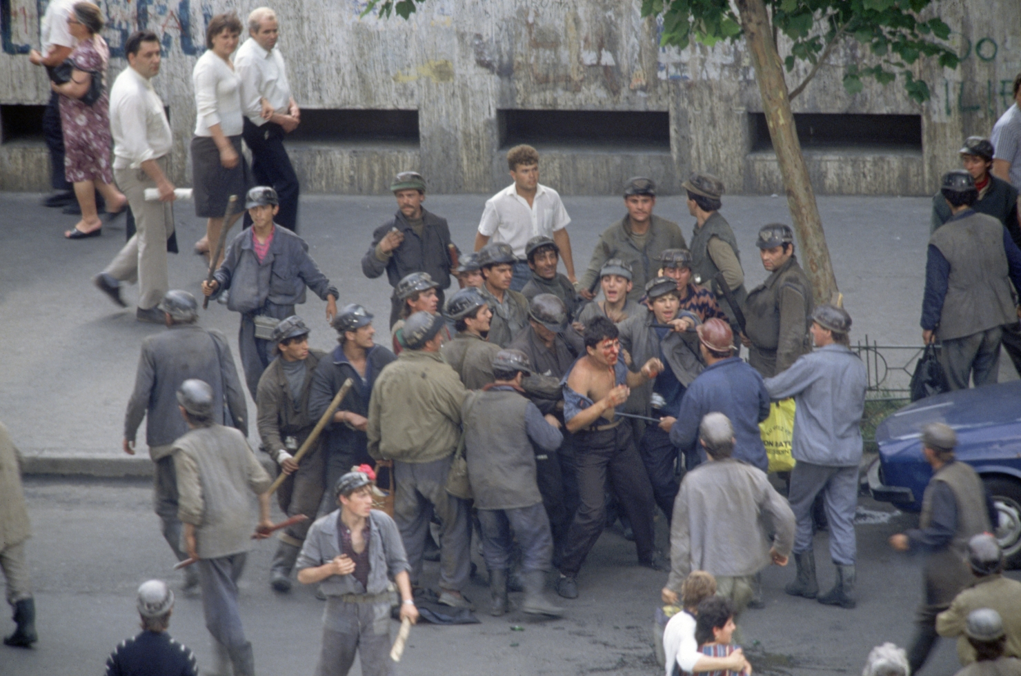 Mineriada 13-15 iunie 1990