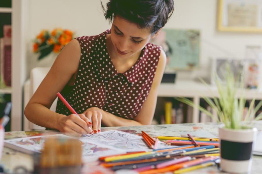 Cărți de colorat pentru adulți