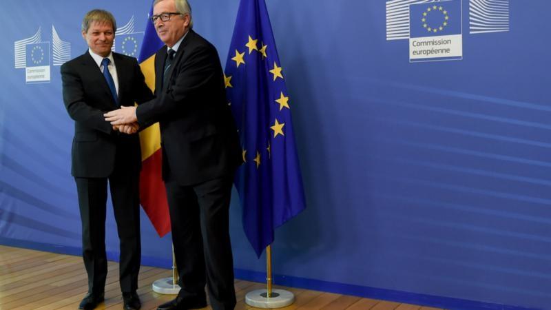 Cioloș și Juncker