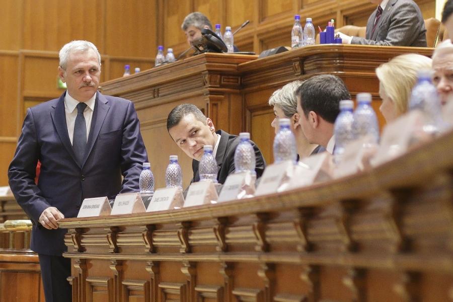 Dragnea - Grindeanu - miniștri