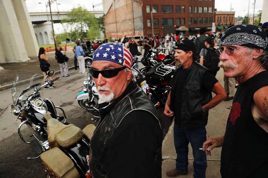 Motocicliștii lui Trump