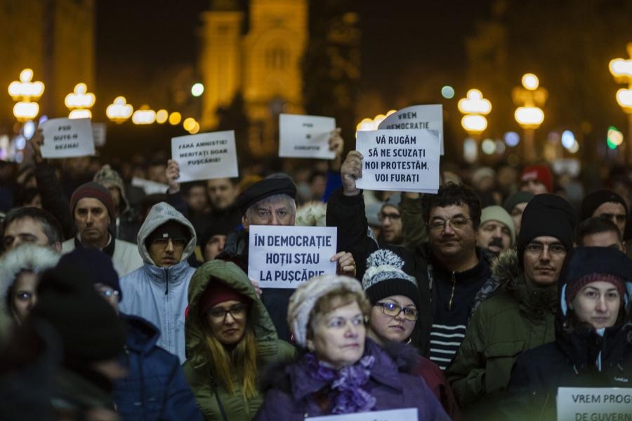 Timisoara - protest