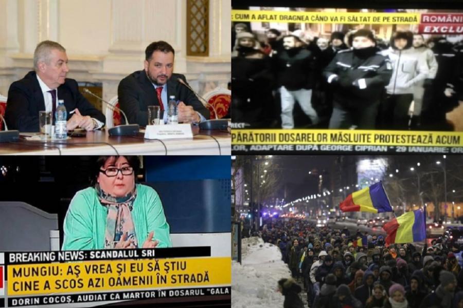 Cătălin Beciu - proteste