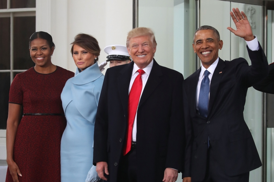 Donald Trump și Barack Obama