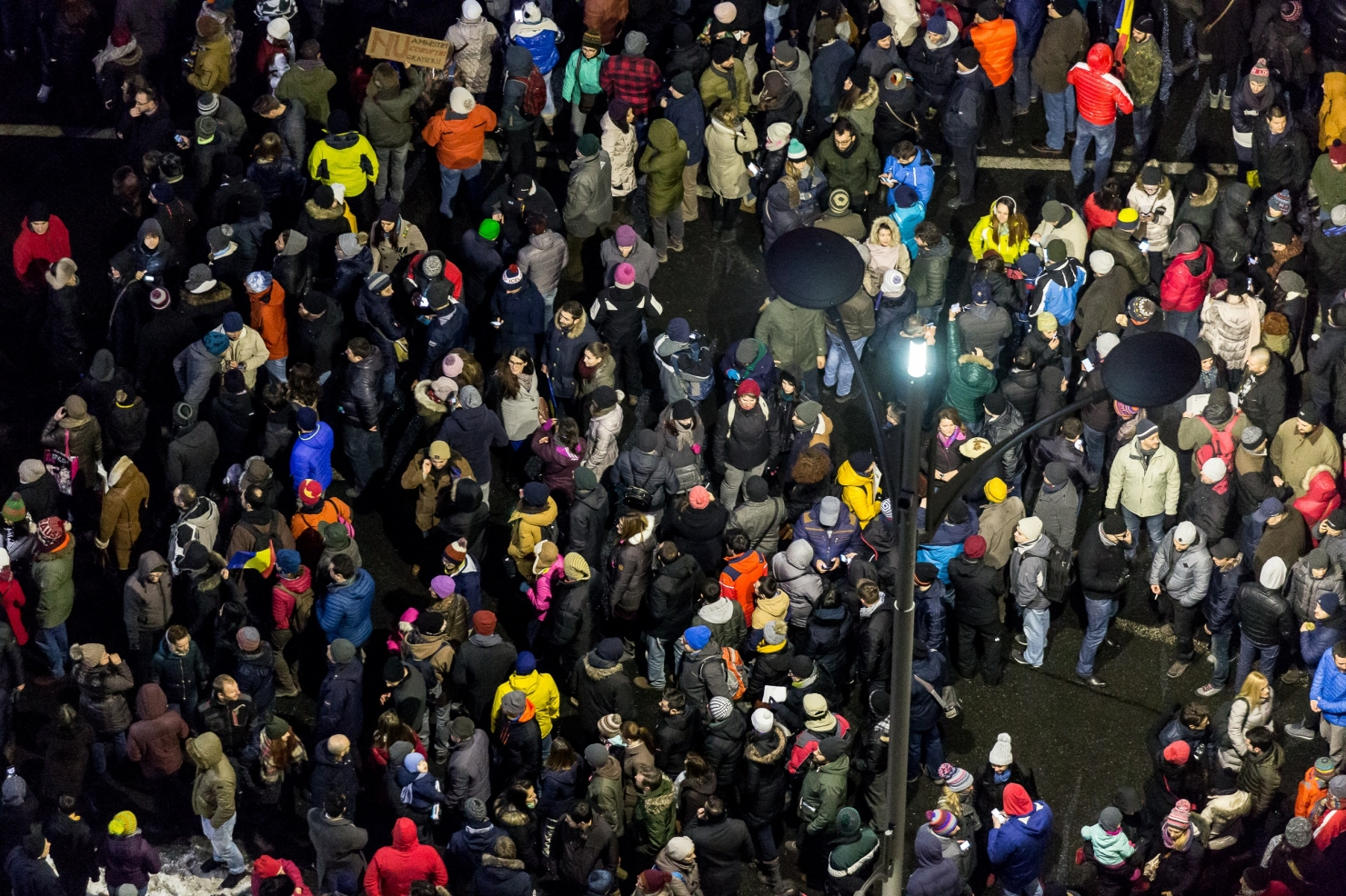 30.000 de protestatari în București