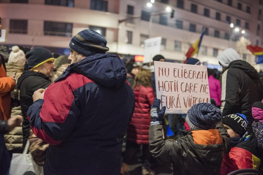 Protestul de duminică din București