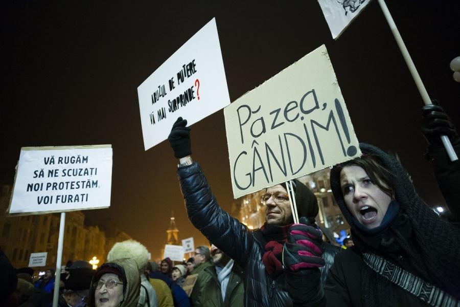 Proteste la Timișoara