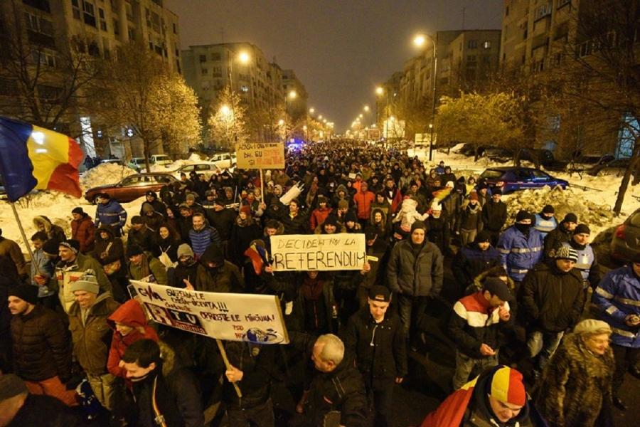 Protest duminică in Bucuresti