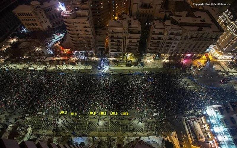Protest - foto Mihai Bălănescu