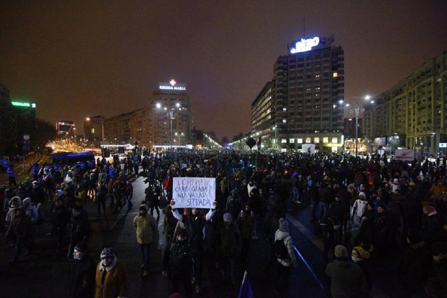 Protest Bucuresti 29 ianuarie