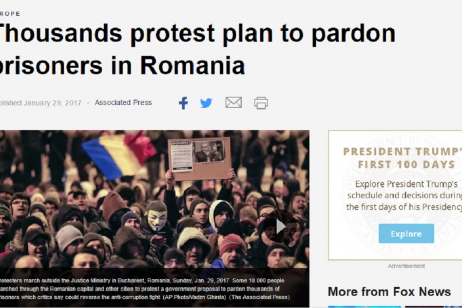 Proteste - captură Fox News