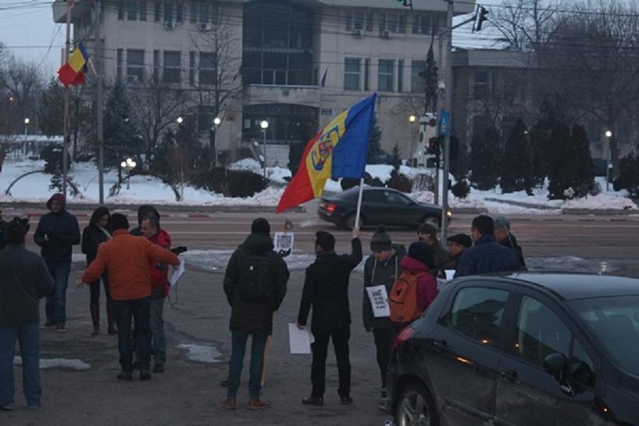 Protest în Teleorman
