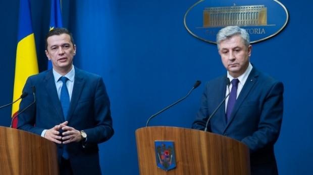 Florin Iordache și Sorin Grindeanu