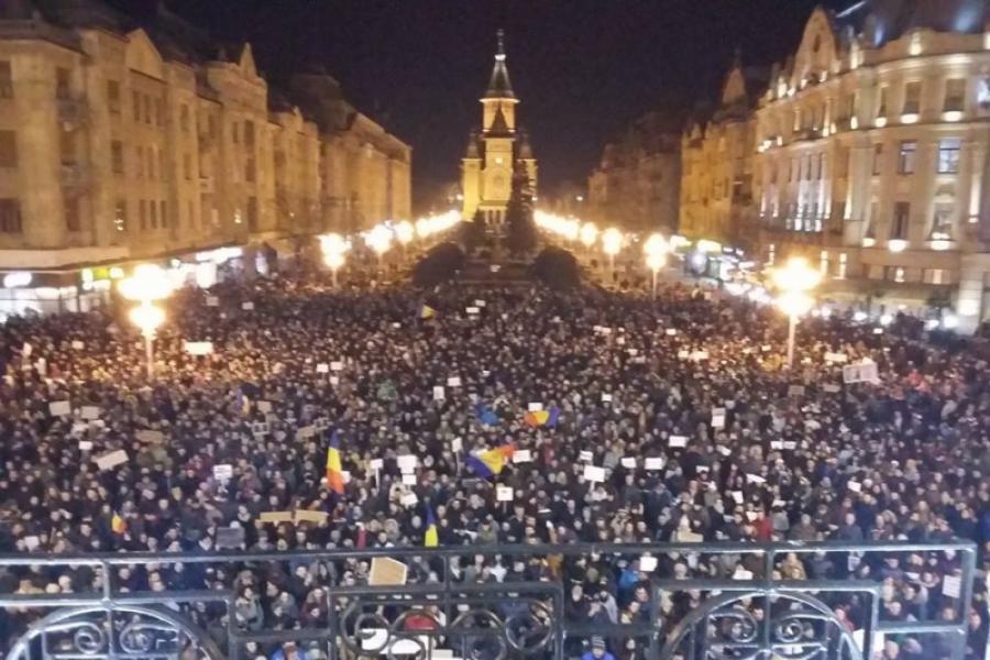 Proteste Timișoara