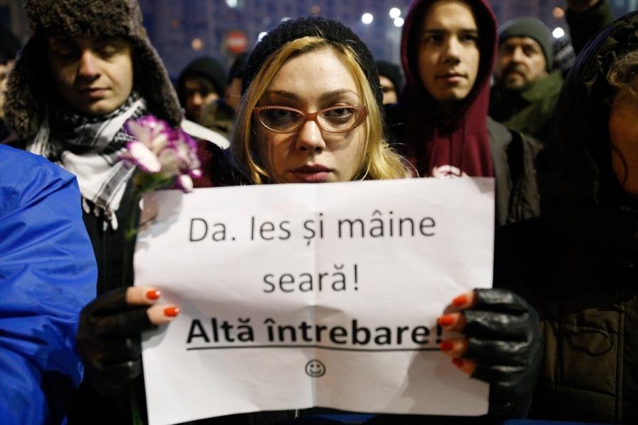 Protestatari - Ies și mâine