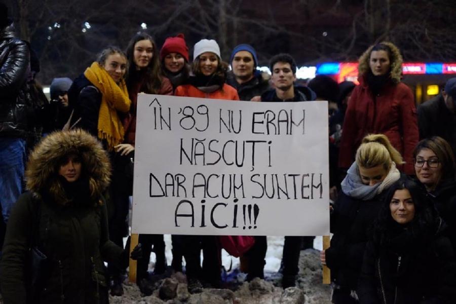 Protest tineri 1989