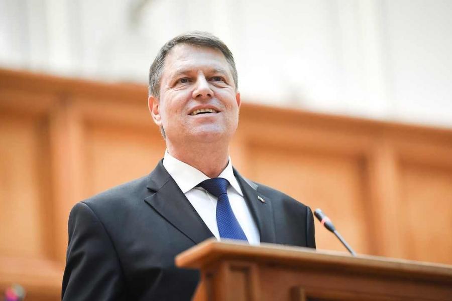 Discursul lui Iohannis in Parlament