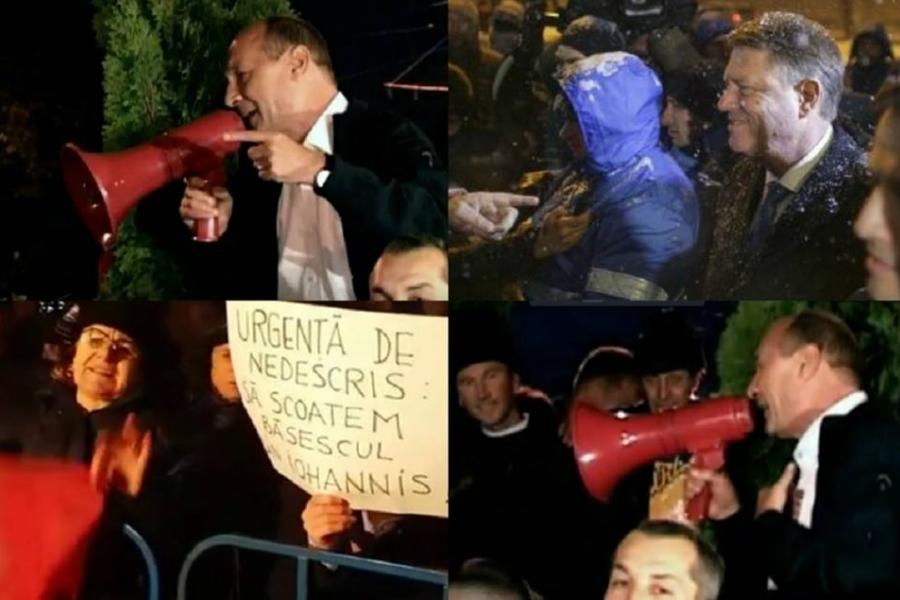 Iohannis si Băsescu