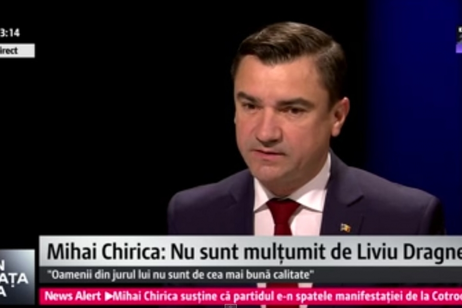 Mihai Chirica, Digi24