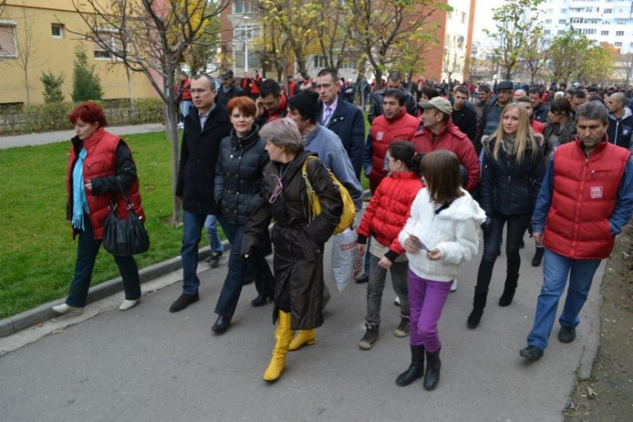 Lia Olguța Vasilescu în campanie