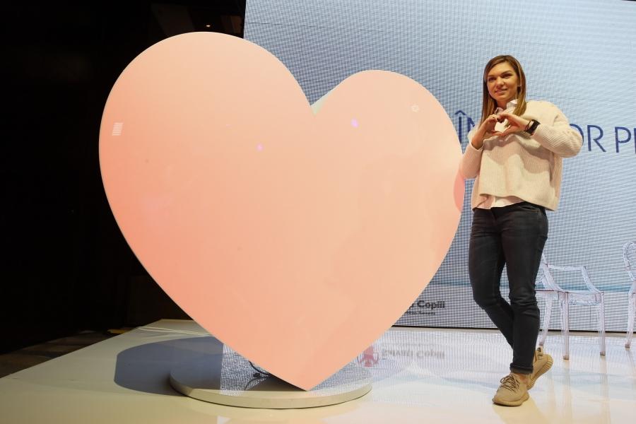 Simona Halep inimă