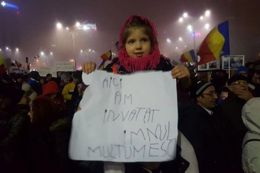 Erica protest