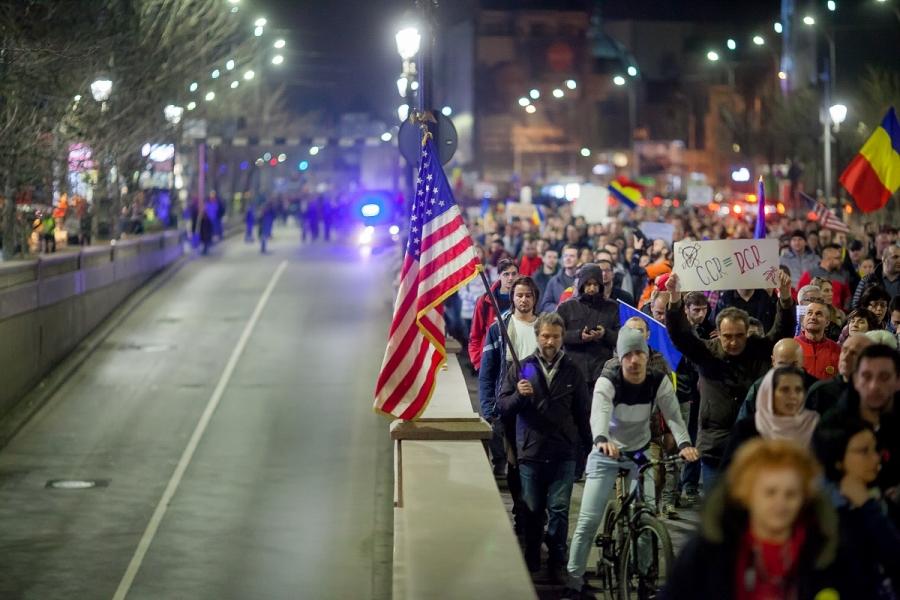 Protest - steagul SUA