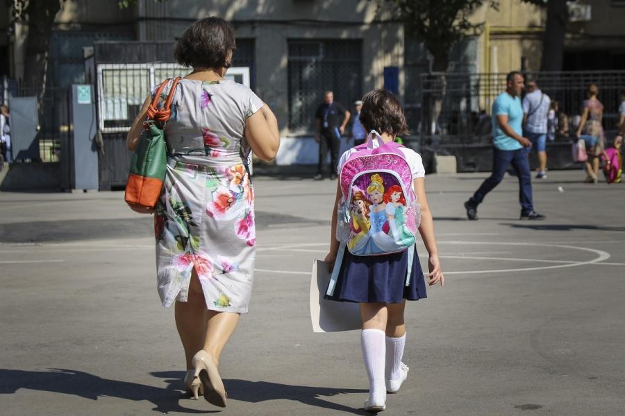 Școală (Alexandru Bușcă/ Inquam Photos)