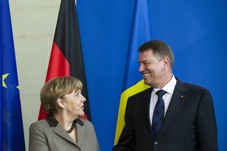 Merkel și Iohannis