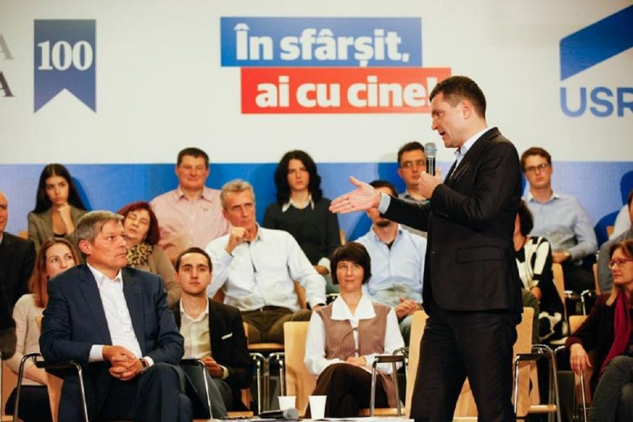 Nicușor Dan - Dacian Cioloș