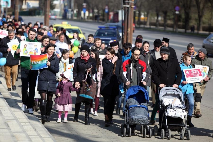 Marș pentru familie