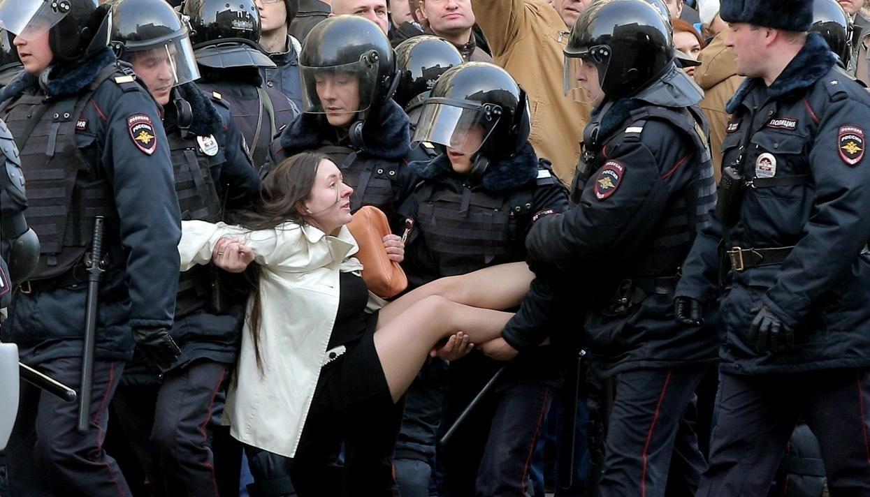Rusia - proteste-