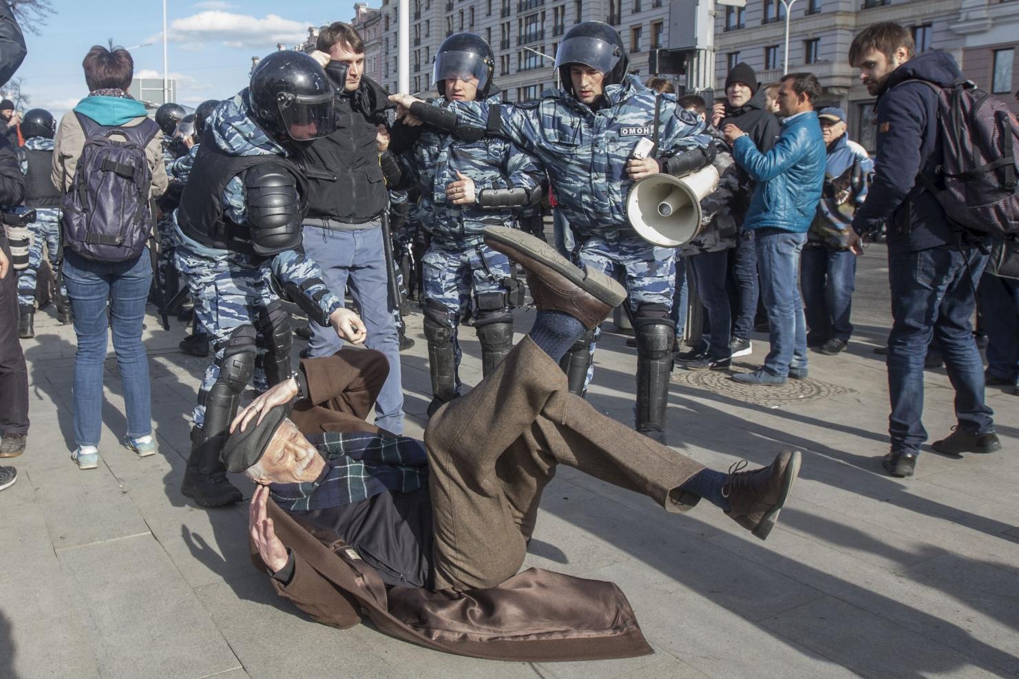 Rusia - proteste