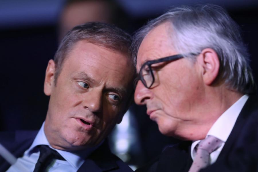 Donald Tusk - Jean Claude Juncker