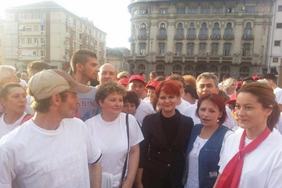 Olguta Vasilescu in campanie