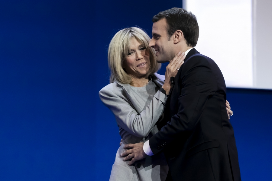 Emmanuel Macron – Brigitte Trogneux