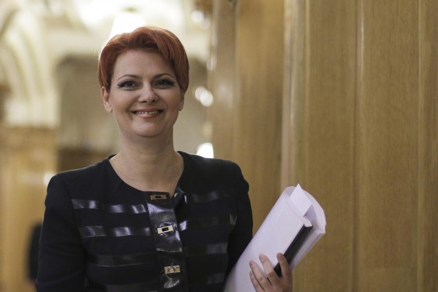 Ministrul Muncii, Lia Olguța Vasilescu