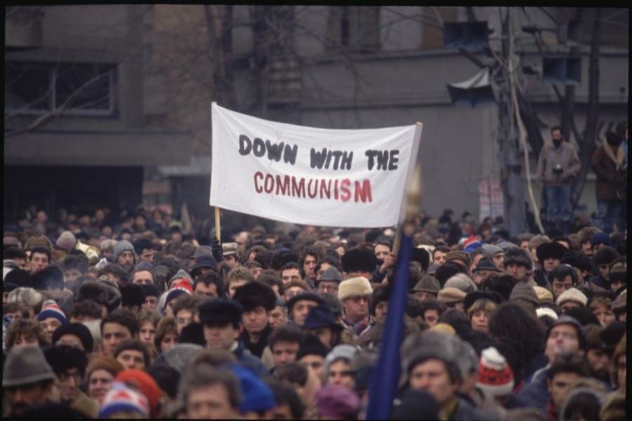 Protest anticomunist