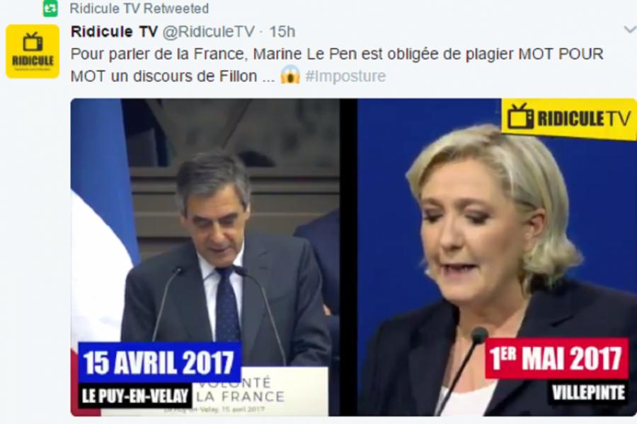 Le Pen - Fillon