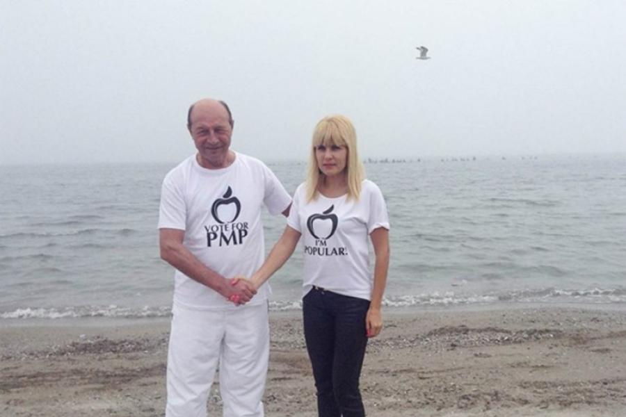 Elena Udrea și Traian Băsescu