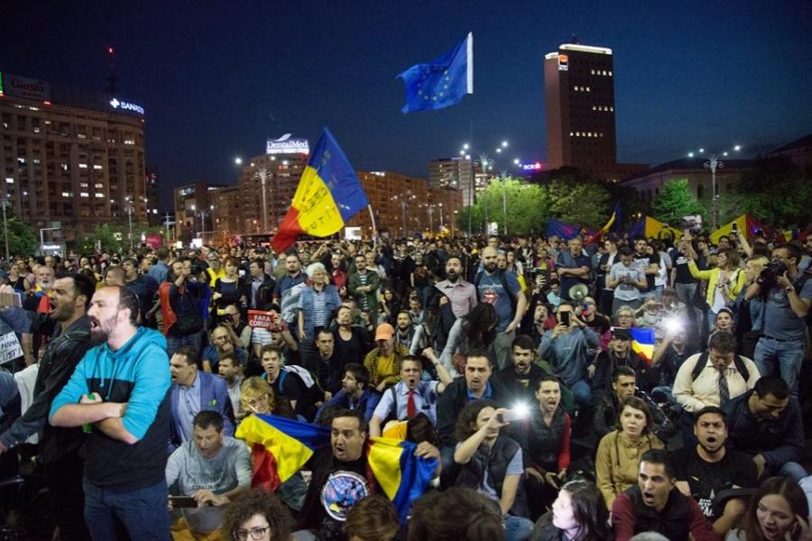 protest 3 februarie - Octav Drăgan