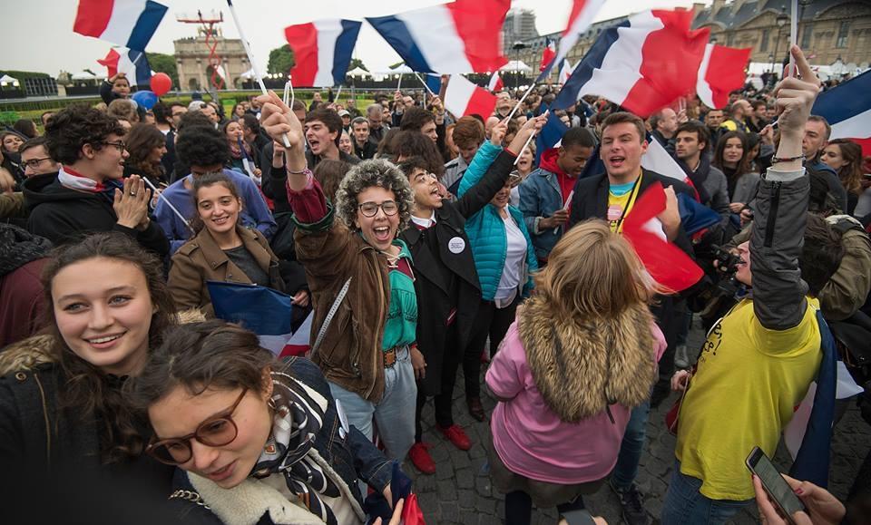 Dansul victoriei în Franța