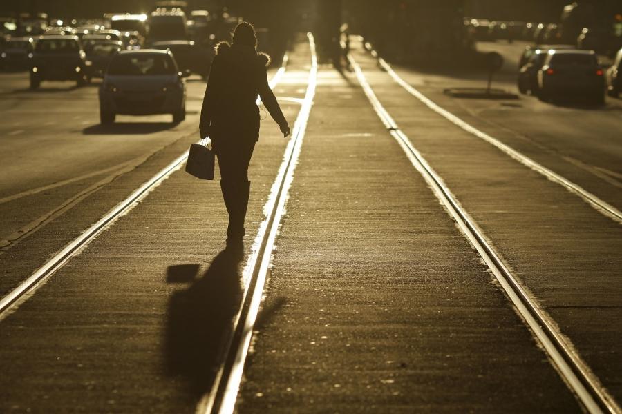 Femeie pe strada