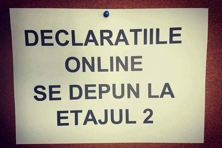 ANAF - declarații online