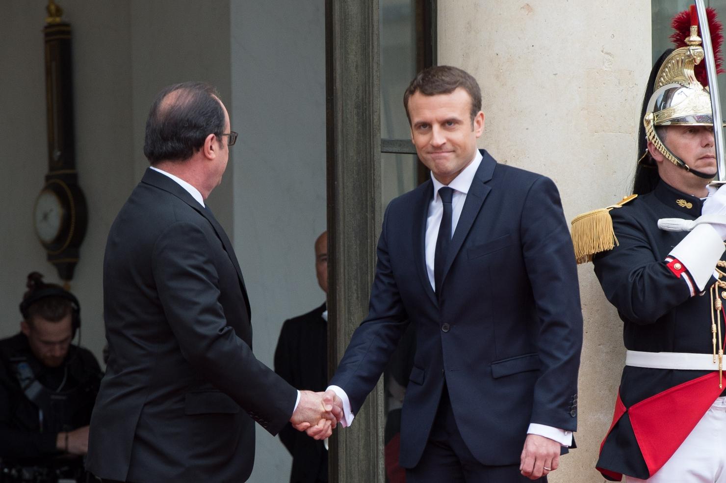 Ceremonie de învestire la Paris
