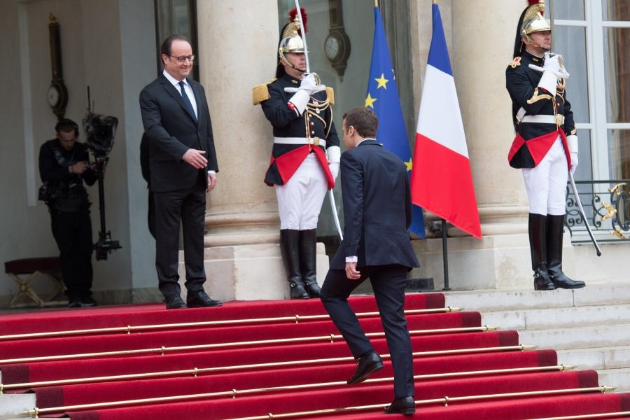 Macron - Hollande