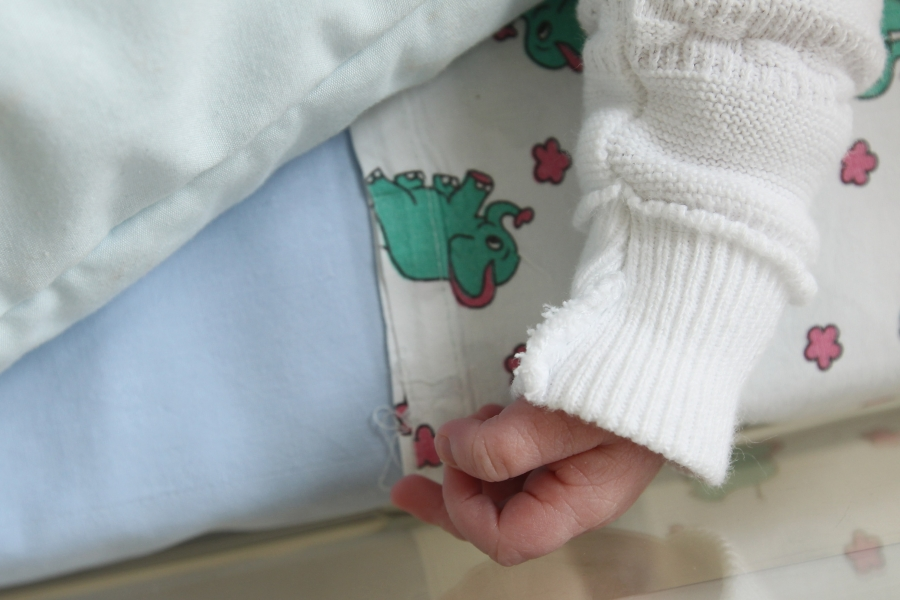 copil la spital
