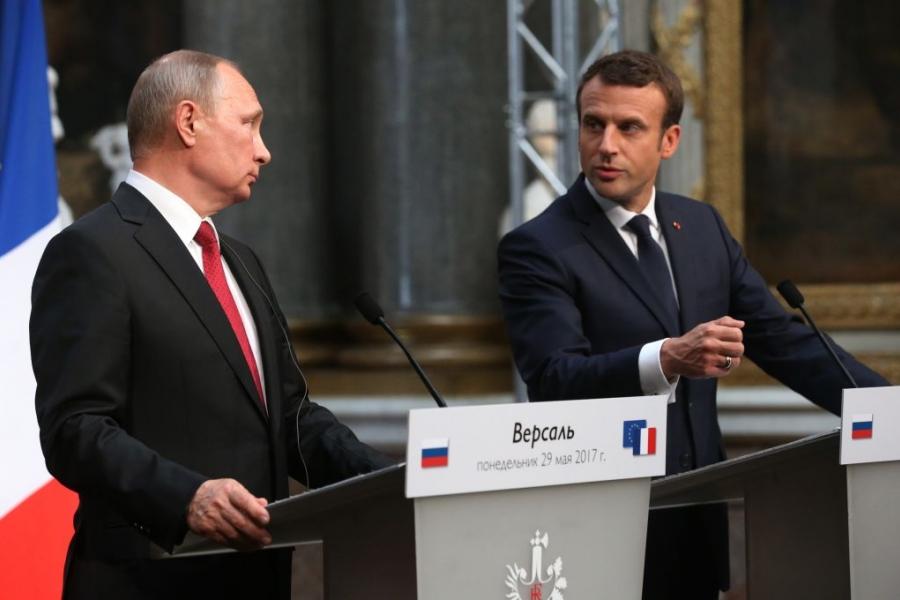 Macron și Putin