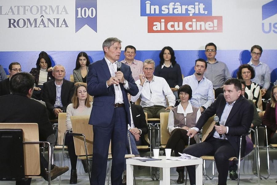 Dacian Cioloș - Nicușor Dan