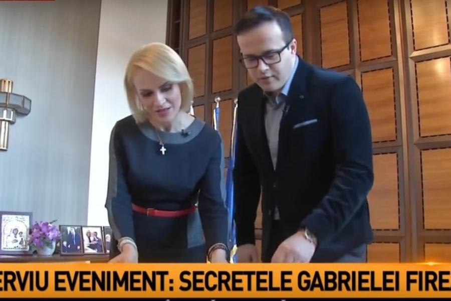 Gabriela Firea la Antena3